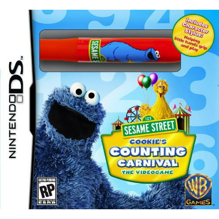 Sesame Street  Cookies Counting Carnival For Nintendo Ds