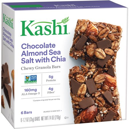 (4 Pack) Kashi Chewy Granola Bars Chocolate Almond Sea Salt 1.2 Oz - 6 - Chewy Chocolate Chip Oatmeal