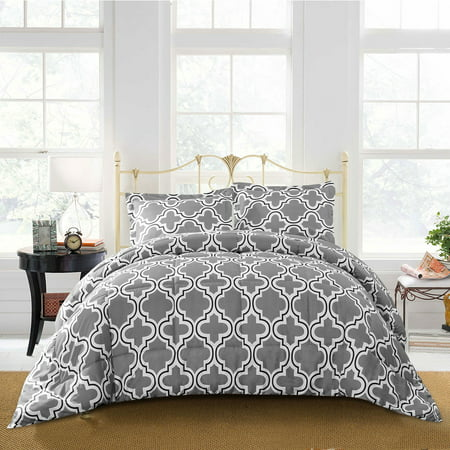 Superior Trellis Reversible Hypoallergenic,Down Alternative Comforter