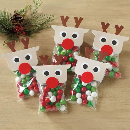Paper Bag Reindeer (Reindeer Treat Bags - Set of 36 bag)