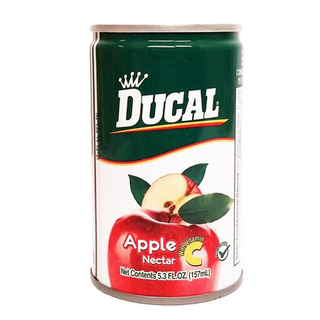 Ducal Apple juice 5.3 oz fl - Jugo de Manzana (Pack of - Manzana Apple Halloween