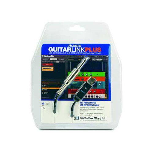 Alesis GuitarLink Plus Audio cable - 16.50 ft - 6.35mm Audio - USB