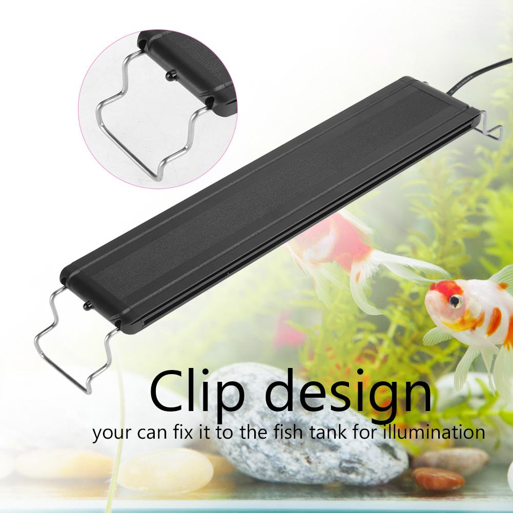 Dilwe Aquarium Lamp, Aquarium Clip Light,7 Colors LED Aquarium Light Clip Lamp with Remote Control US Plug... by