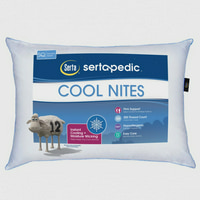 Deals on Sertapedic Cool Nites Pillow Standard/Queen