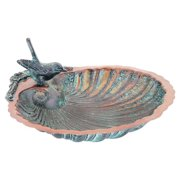 Achla Designs Scallop Shell Bird Bath and Feeder