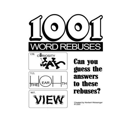 1001 Word Rebuses - Halloween Rebus