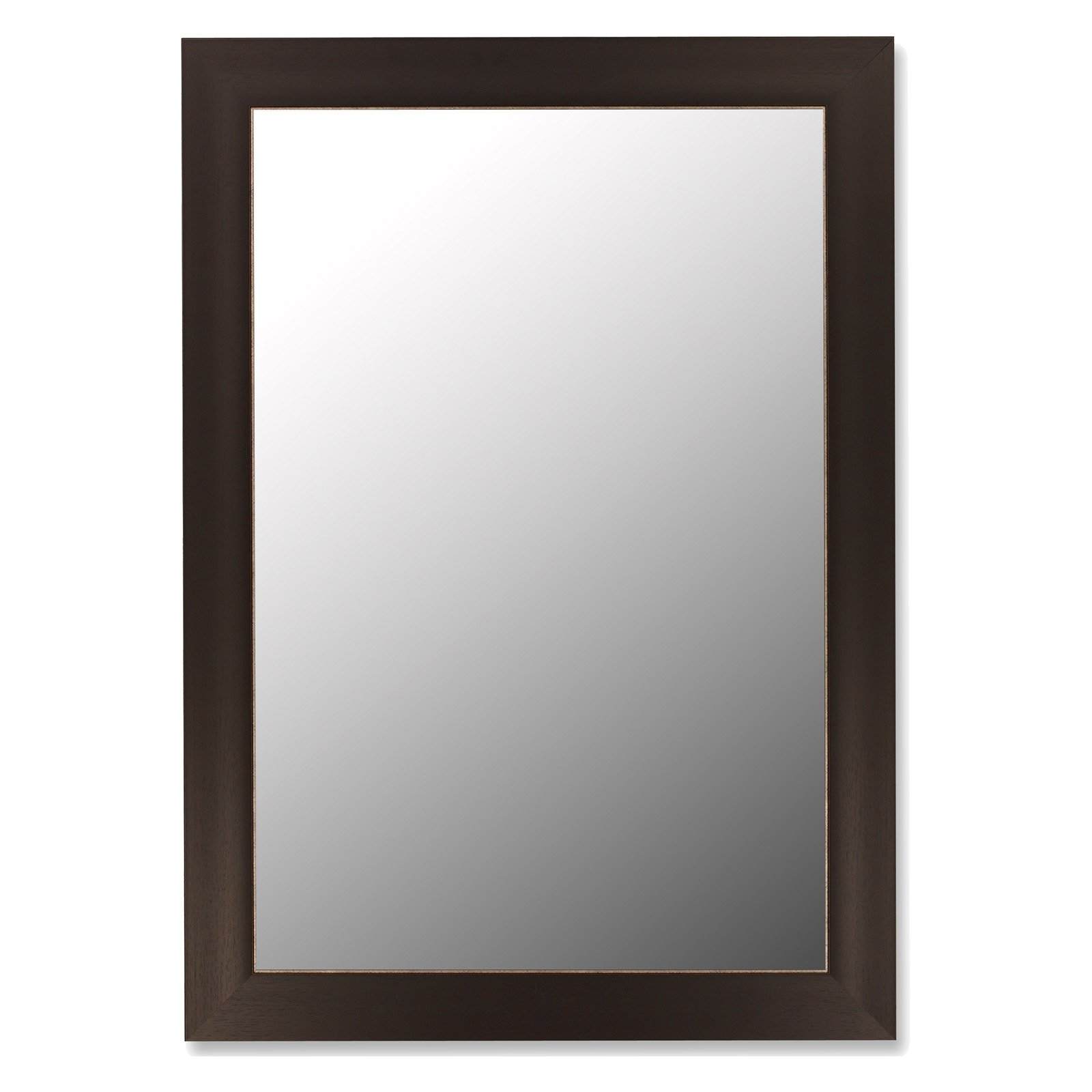 Espresso Framed Wall Mirror