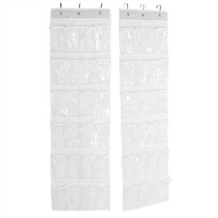 Ejoyous 24-Pockets Hanging Storage Shelf Shoes Holder Organizer Rack Space Saving, 24-Pockets Storage Bag, Shoes Organizer Rack - image 1 of 7