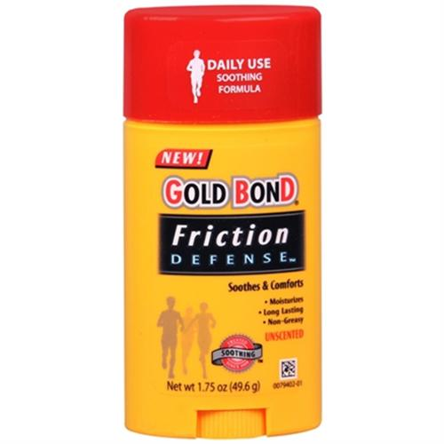 Gold Bond Friction Defense Stick Unscented 1.75 oz (Pack of 3)