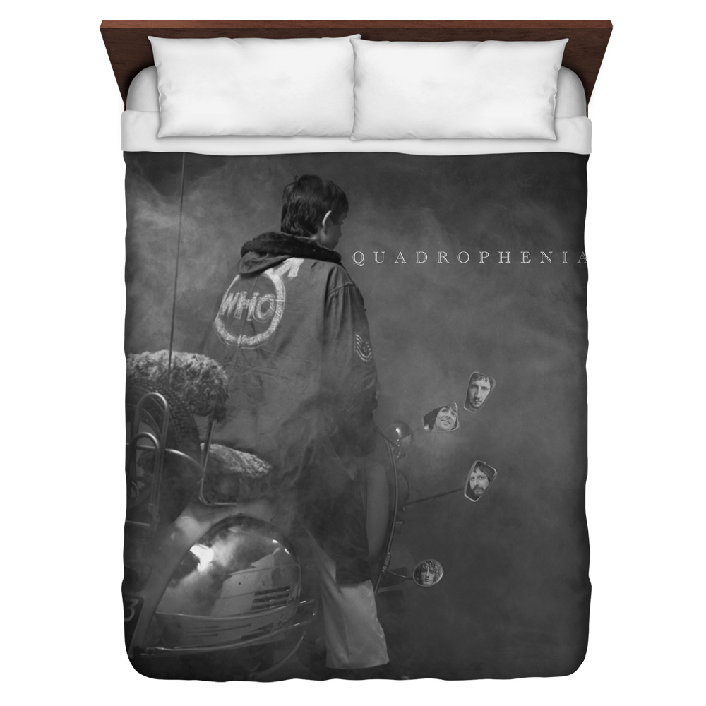 The Who Quadrophenia Queen Duvet Cover White 88X88