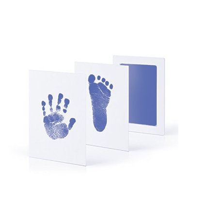 Newborn Baby Handprint Inkless Touch Non-Toxic Inkpad DIY Photo Frame Infant Hand and Footprint Souvenirs - Halloween Handprint Footprint Crafts