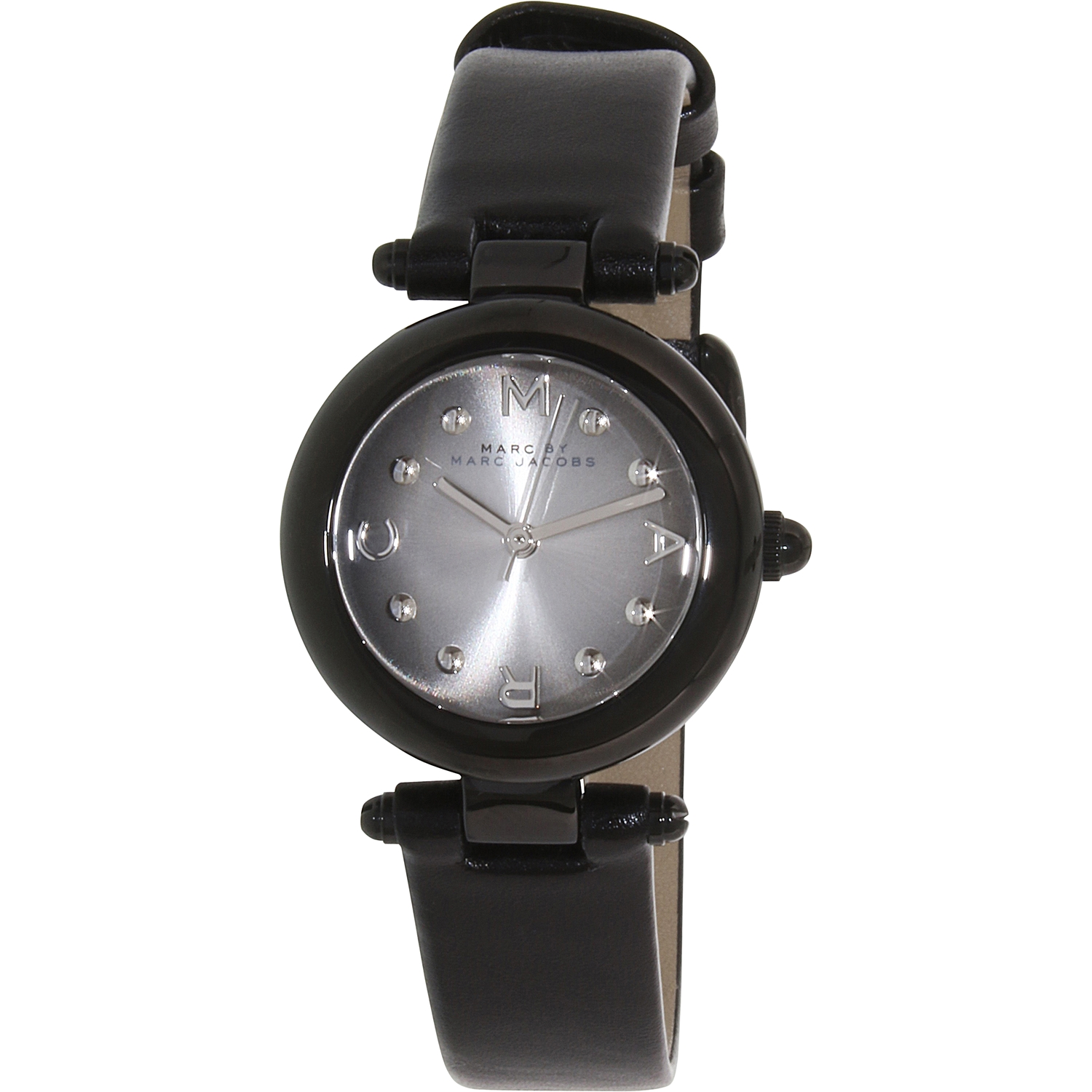 Marc by Marc Jacobs Women's Dotty MJ1415 Black Stainless-Steel Quartz Fashion Watch