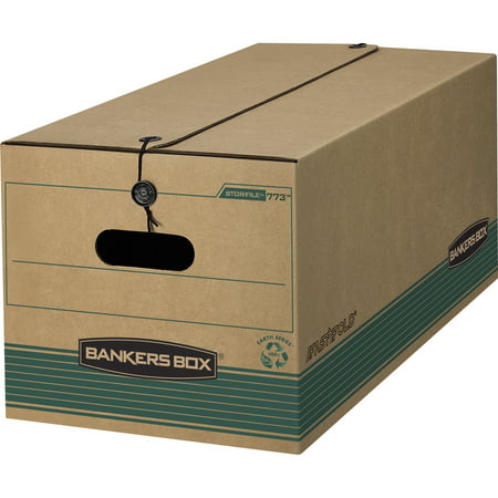Bankers Box, FEL00774, String/Button Storage Boxes, 12 / Carton, Wood Grain