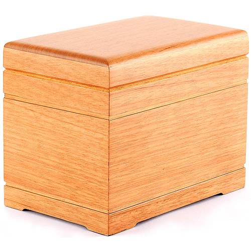 Star Legacy Celestial All-Natural Wood Urn, Oak