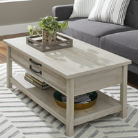 Better Homes & Gardens Modern Farmhouse Lift-Top Coffee Table, Multiple Finishes