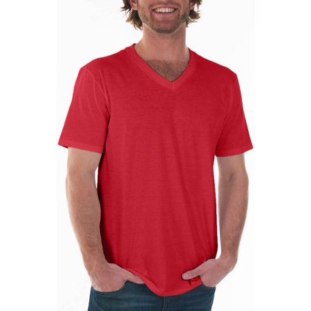 Gildan big mens fitted v neck short sleeve t shirt 2xl for Gildan v neck t shirts for men
