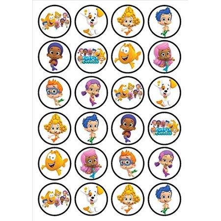 Deema Bubble Guppies (Bubble Guppies Nonny Molly Oona Gil Deema Mr Grouper Edible Cupcake)