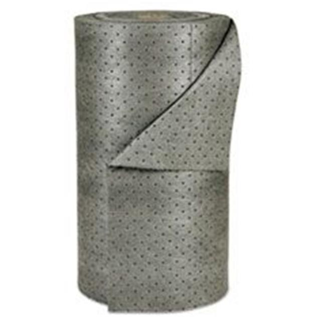 Brady Worldwide SBDMRO350DP 38 gal MRO Plus Medium Sorbent-Pad Roll, Gray - 30 in. x 150 ft. - image 1 de 1
