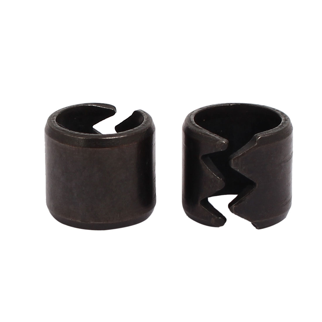 SWA 13mm Carbon Steel Spring Split Dowel Tension Roll Cotter Pin Black 2pcs - image 2 of 2