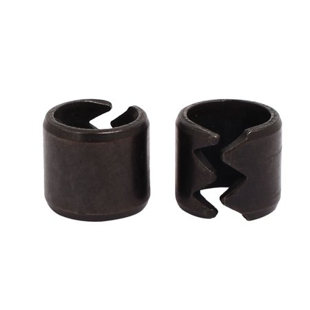 Swa 13Mm Carbon Steel Spring Split Dowel Tension Roll Cotter Pin Black 2Pcs