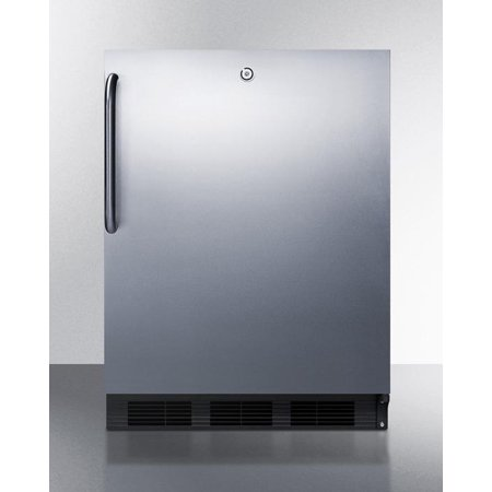 Refrigerator Ada Compliant Lock (AL752LBLCSS 24 5.5 cu.ft. ADA Compliant Undercounter Refrigerator With Automatic Defrost  Front Lock  Professional Towel Bar Handle and Adjustable Glass Shelves: Stainless)