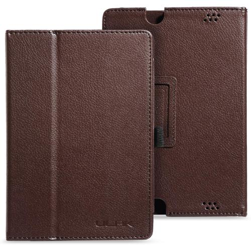 ULAK PU Leather Folio Stand Case Cover for Amazon Kindle Fire HD 7 Inch  - 2013 Released (Previous Generation - 3rd) with Auto Sleep/Wake Feature