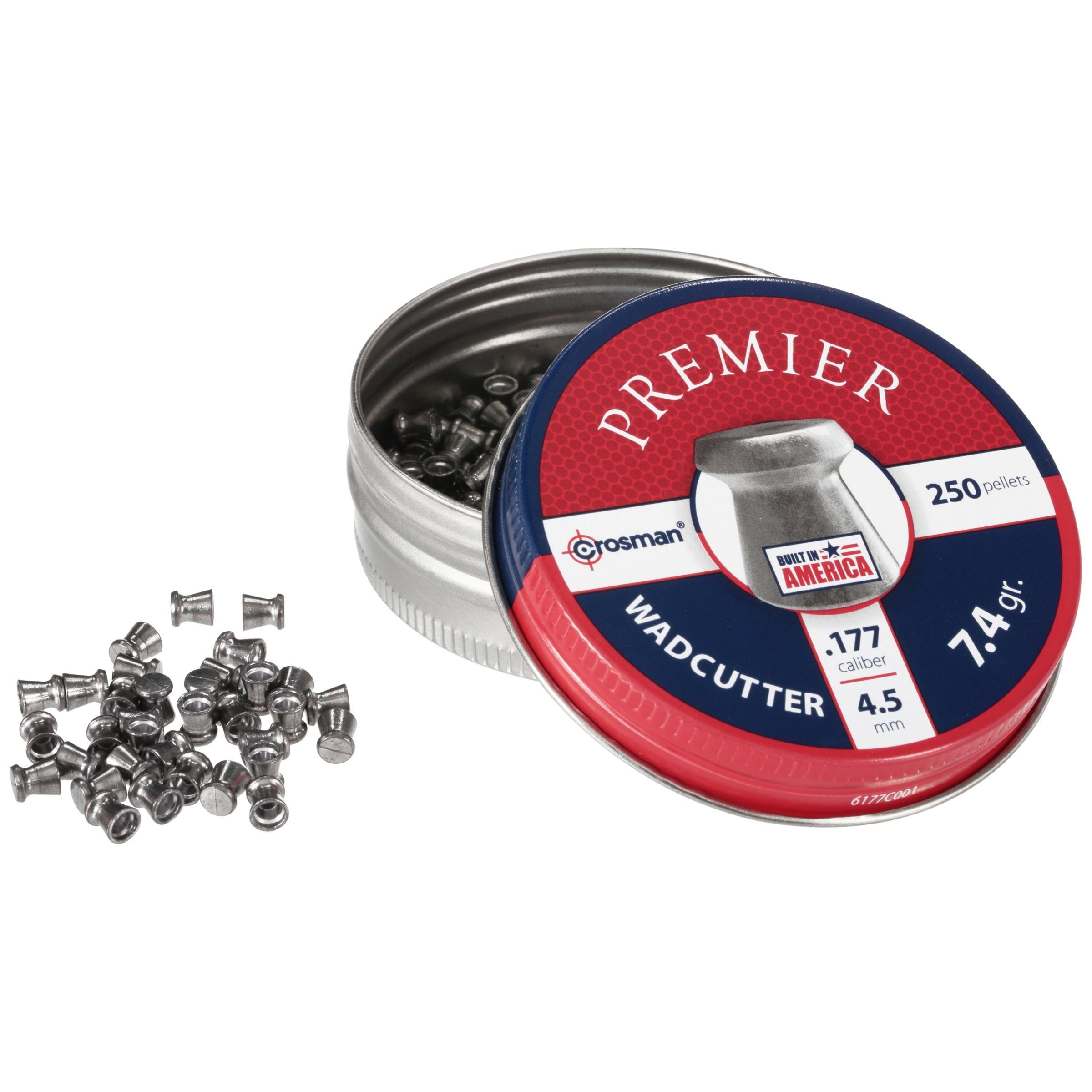 Crosman Match Wadcutter 177 caliber Pellets