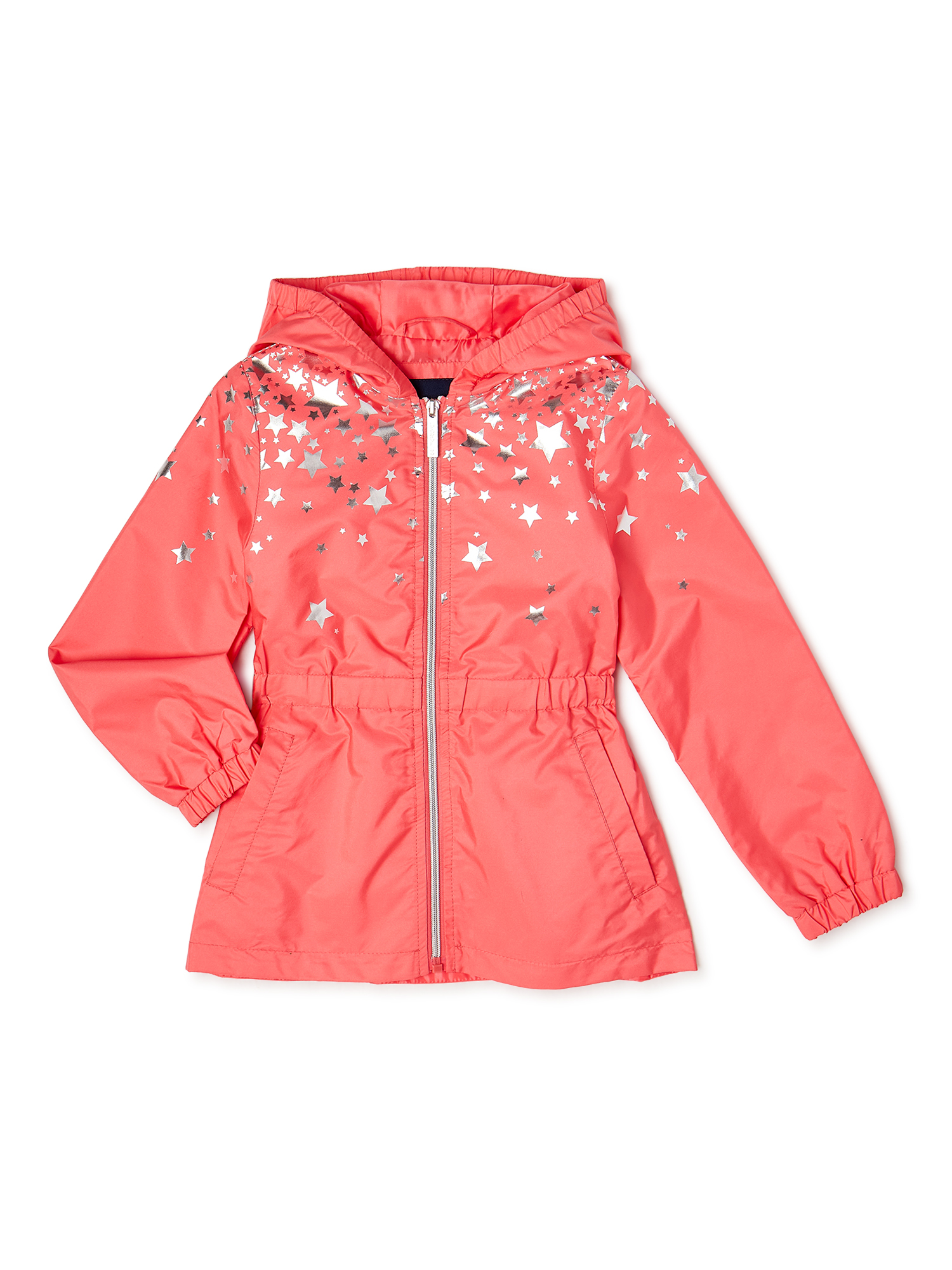 Red Country Girl Riding-Style Jacket with a Teddy Bear and Apple by Kids Headquarters Size 5
