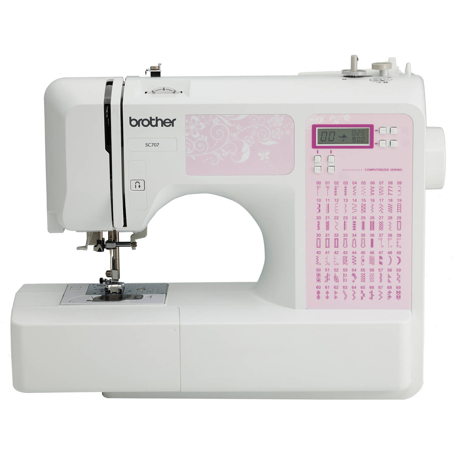weight of sewing machine