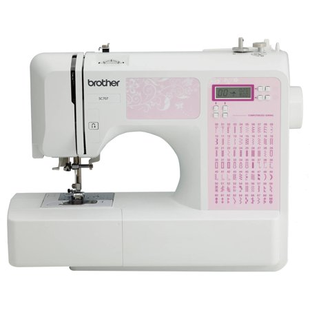 Brother 40Stitch Light Weight Portable Sewing Machine SC407 Unique Lightweight Portable Sewing Machine