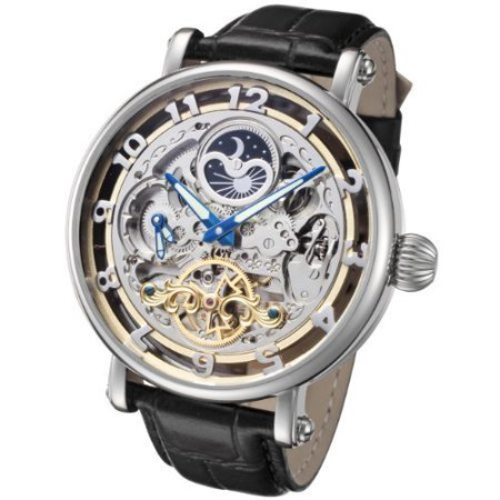 XL Skeleton Automatic Dual Time Zone Watch RGSA47