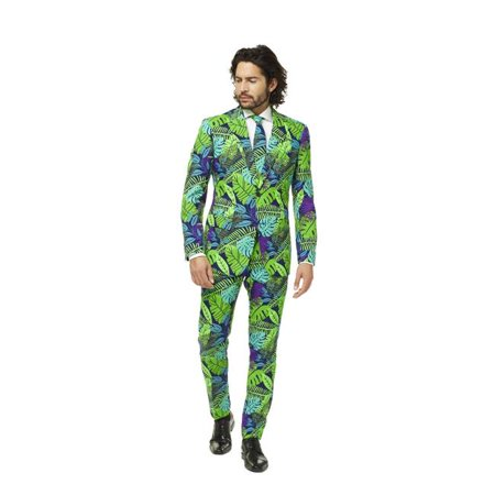 OppoSuits Men's Juicy Jungle Plant Suit