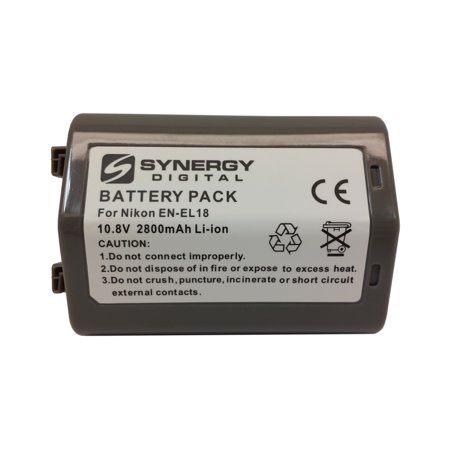 Nikon D4S Digital Camera Battery Lithium-Ion (2800 mAh) - Replacement for Nikon EN-EL18