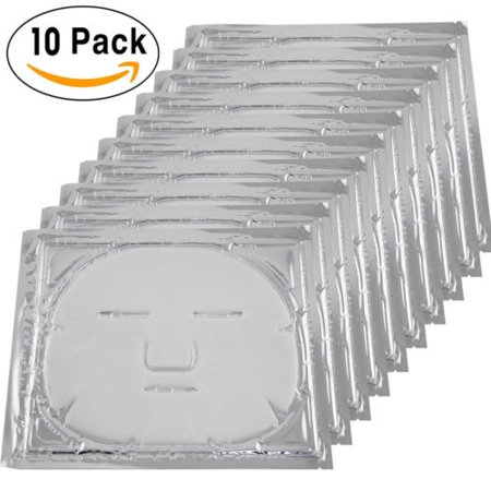10x  Bio-Collagen Facial Mask Elastin Anti Aging Tighten Skin Hydrating (Cruelty Hydrating Facial Mask)