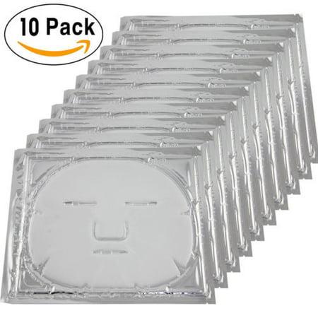 10x  Bio-Collagen Facial Mask Elastin Anti Aging Tighten Skin Hydrating White