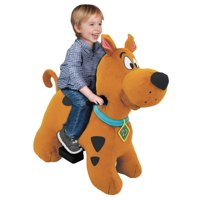 6 VOLT SCOOBY DOO PLUSH RIDE ON WITH MYSTERY MACHINE INCLUDED!