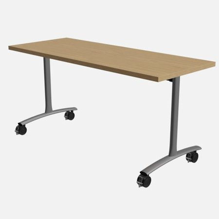 Ft Conference Table Conference Room Tables Compare Prices At - Lorell flipper training table