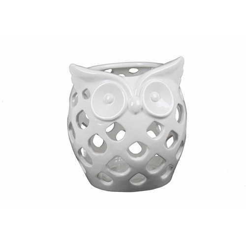 Better Homes and Gardens Owl Candle Holder by XIAMEN BAOXIN ART POTTERY AND PORCELAIN CO.,LTD