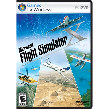 Microsoft Flight Simulator X Standard DVD - PC (Rise Of Flight Pc Game)