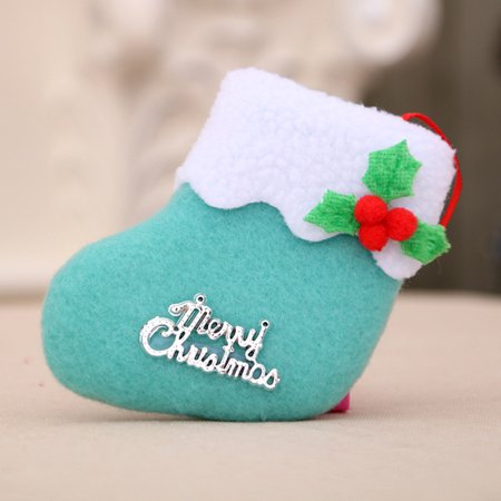 Christmas Decorations New Year Gifts Santa Snowman Socks Christmas Socks Gift ()