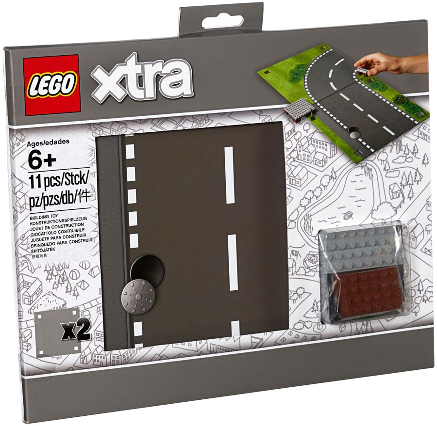 Xtra Road Playmat LEGO 853840