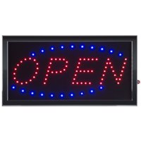 Open LED Lighted Neon Sign, Energy Efficient by LH