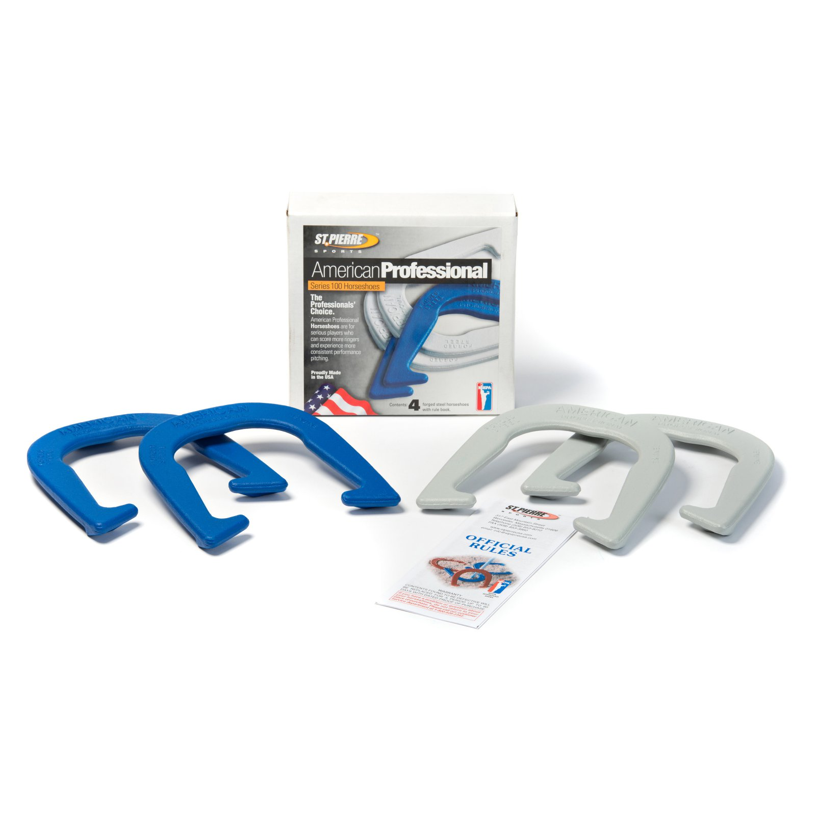 St. Pierre American Professional Horseshoe Set by ST PIERRE MFG CORP