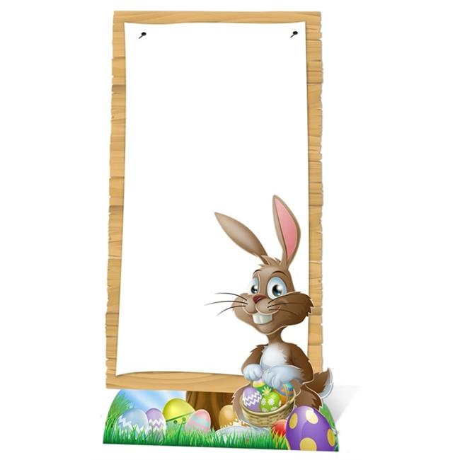 Star Cutouts SC721 Easter Sign Cardboard Cutout Standup