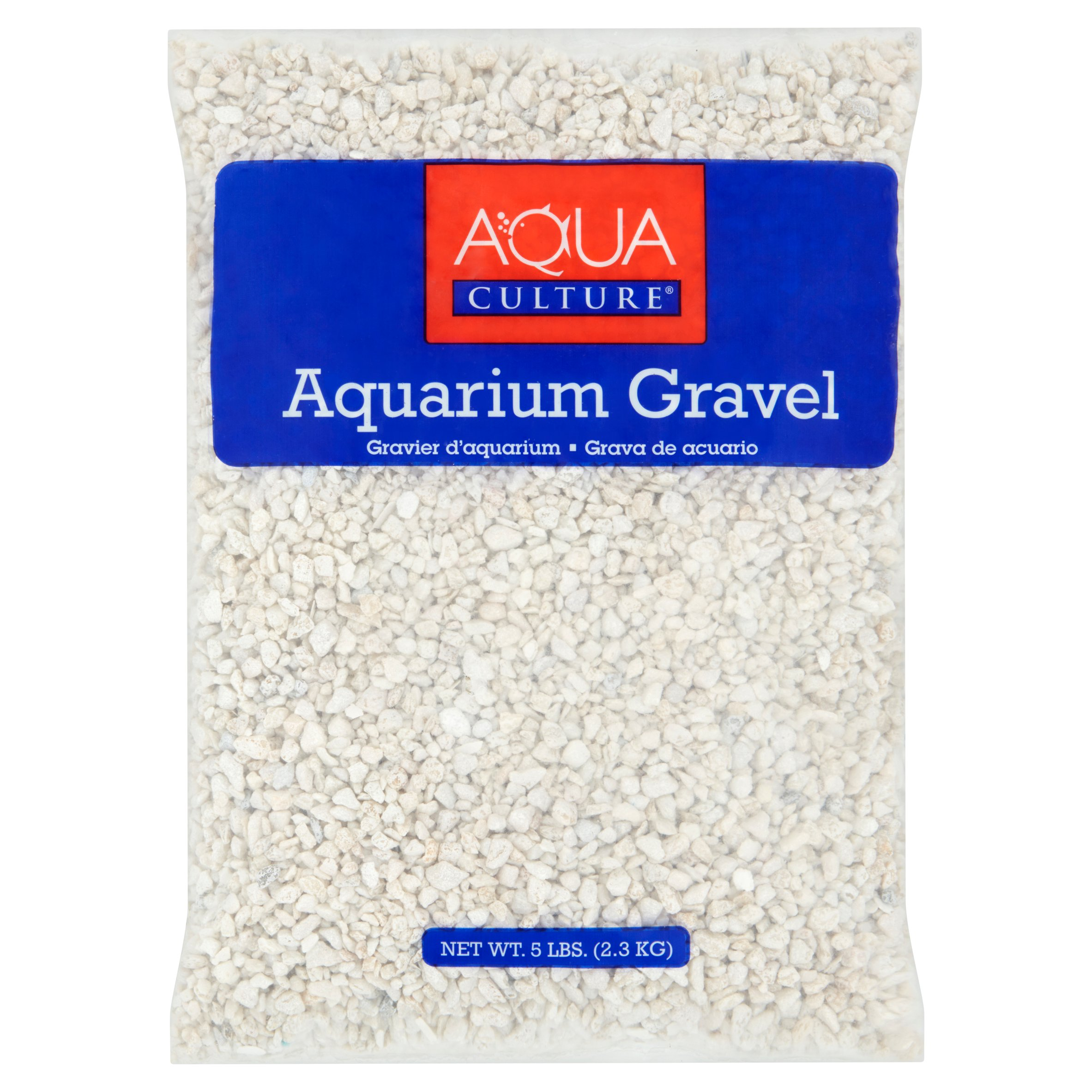 Aqua Culture Aquarium Gravel, White, 5 lbs