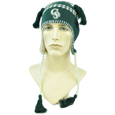 NCAA Zephyr Alpine Tassel Knit Beanie Hat Ear Flaps Toque Colorado State Rams](Alpine Hat)