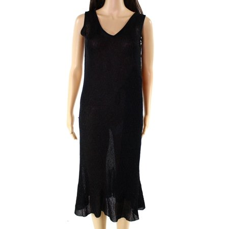 Lauren Ralph Lauren NEW Black Womens Size Medium M Shimmer Sheath Dress](Shimmer Dresses)