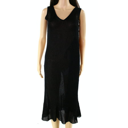Lauren Ralph Lauren NEW Black Womens Size Medium M Shimmer Sheath Dress](Shimmer Dress)