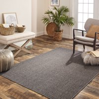 Mainstays Gray Titan Area Rug, 5' x 7'