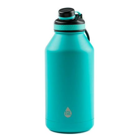 Steelworks Water Bottle (Tal 64 Ounce Double Wall Vacuum Insulated Stainless Steel Ranger Pro Teal Water Bottle, 1)